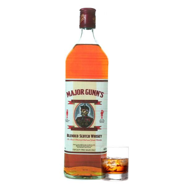 Spirits Whiskey Major Gunn's